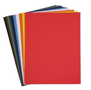 Gekleurd papier, 35 x 50 cm, niet gegomd, 50 vel