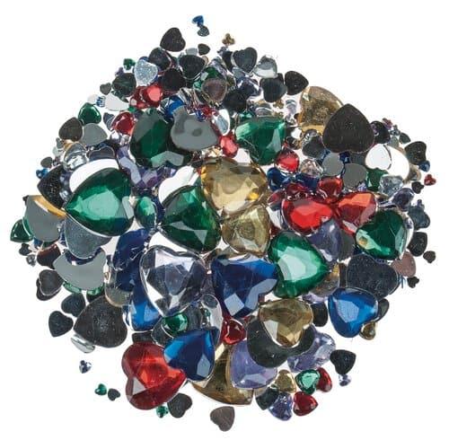 fc98256ac005 Piedras de bisutería - Corazones