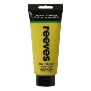 Acrylverf Reeves (200 ml) mediumgeel