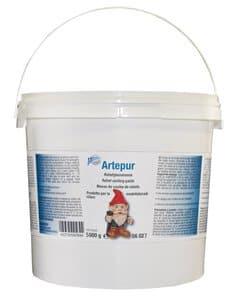 Artepur marmergips/gietpoeder, 5 kg, wit