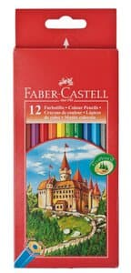 Kleurpotloden, 12 stuks in kartonnen etui