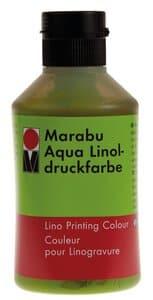 Linoldruckfarbe Marabu-Aqua, 250 ml gelbgrün