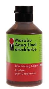 Linoldruckfarbe Marabu-Aqua, 250 ml mittelbraun