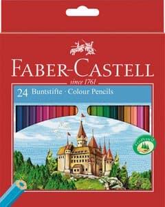 Lápices de colores FABER-CASTELL Ritter, 24 ud.