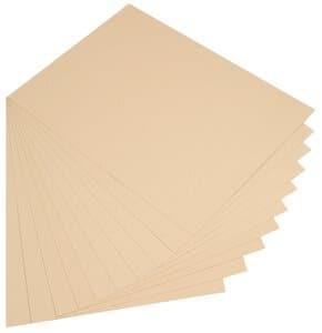 Tonpapier,  10 Bogen chamois         (50 x 70 cm)