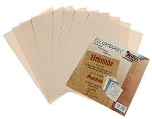 Elefantenhaut Papier, 10 Blatt creme     (DIN A4)