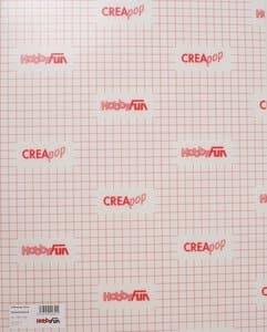 CreaPop folie, zelfklevend (0,3 x 330 x 400 mm)