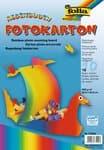 Fotokarton,  10 Bogen regenbogen     (23 x 33 cm)