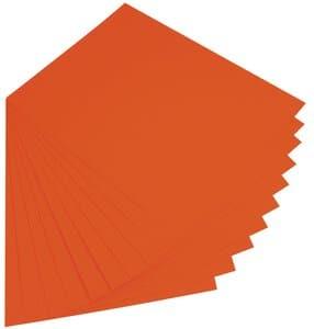 Fotokarton, 300g 50x70 cm, 10 vel, oranje