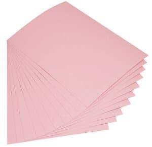 Cartulina, 300 g/m2,50x70 cm, 10 ud, rosa