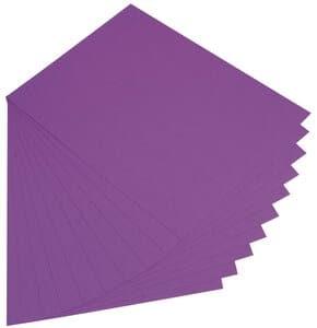 Cartulina, 300 g/m2,50x70 cm, 10 ud, lila oscuro