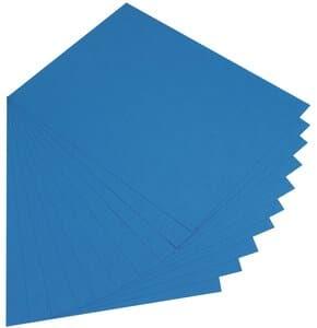 Cartulina, 300 g/m2 50X70 cm - 10 ud, azul medio
