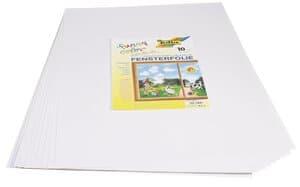 Window Color Folie selbsthaft., 10 Blatt (50x70cm)