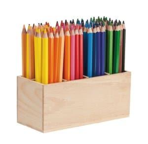 Jumbo kleurpotloden display, 96 kleurpotloden