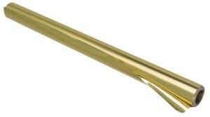 Alu knutselfolie, 10 m/rol dubbelzijdig, goud/goud