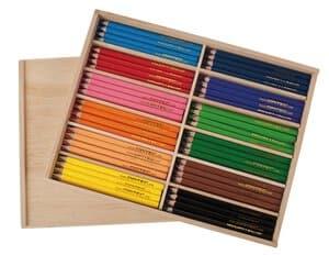 OPITEC Jumbo kleurpotloden,12 kleuren x 12 stuks