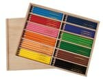 Lápices de colores jumbo OPITEC, 144 lápices