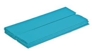 Papel crepé, 10 hojas azul claro (50 cm x 2,5 m)