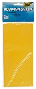 Zijdepapier (50 x 70 cm) geel, 5 vel