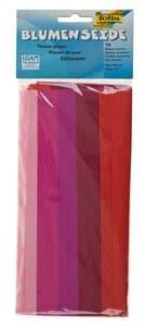 Zijdepapier kleur op kleur, rood, 10 vel