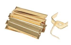 'Clip' per sacchetti cellofan, 25 pezzi