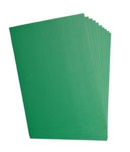 Cartón ondulado, 10 hojas verde claro (50x70cm)