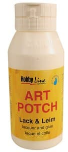 Colle serviettes Art Potch , 750 ml, la pièce