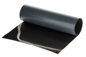 Strijkvelours - flockfolie (22,9 x 91,4) zwart