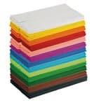 Papel crepé 130 rollos de 13 colores (50 x 250 cm)