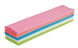 Crêpepapier (2,50 m x 50 cm) 5 kleuren/10 stuks
