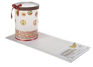 Laternenzuschnitte, 25 Blatt Transparentpapier