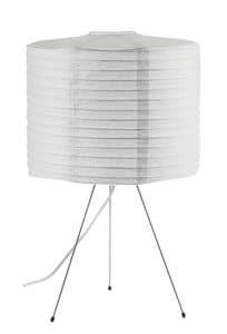 Papier Tischlampe mit Fassung  E27, max. 60 W