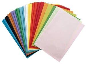 Voordeelset: strozijde papier (47 x 64 cm) 25 vel