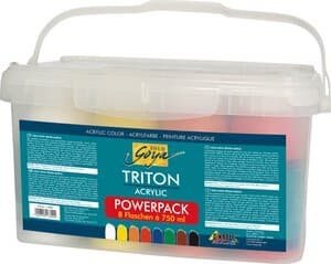 Acrylfarbe Solo Goya Triton Power, 8 x 750 ml