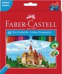 Lápices de colores FABER CASTELL, 48 ud.