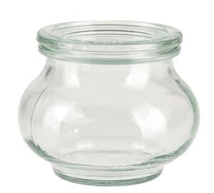 WECK® glas met deksel, ø 90 x 70 mm, per stuk