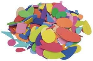 Sticker vormen van foam (geometrisch)