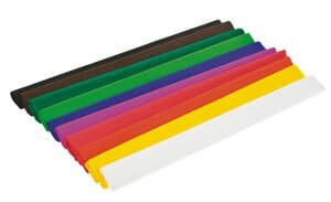 Crêpepapier (2,50 m x 50 cm) gekleurd, 10 stuks