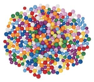 Perles acryliques -Bille-, Diverses t...,