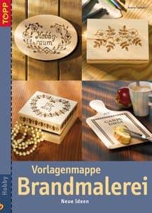 Duits boek: 'Vorlagenmappe Brandmalerei'