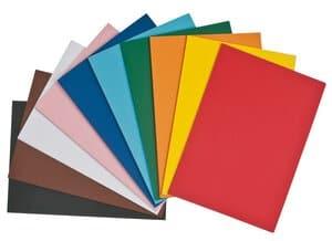 Gekleurd karton (A4) 100 vel/10 kleuren