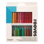 Pastels aquarellables Reeves, 24 pastels