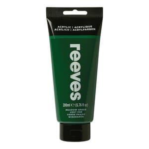 Acrylverf Reeves (200 ml) grasgroen
