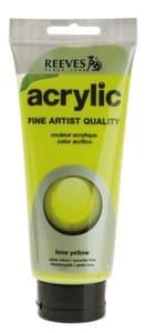 Acrylverf Reeves (200 ml) geelgroen
