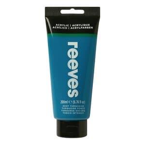 Acrylverf Reeves (200 ml) donker turkoois