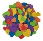Schuimrubber harten, kleurrijk, 120 stuks