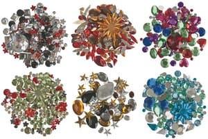 Pierres à bijoux assorties -Elégance-,