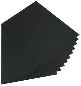 Papier cartonné de couleur, 220 ..., noir
