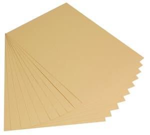 Papier cartonné de couleur , Sans a..., doré