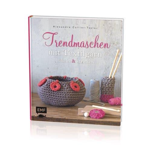 Buch Trendmaschen Mit Textilgarn Häkelnstricken Opitec